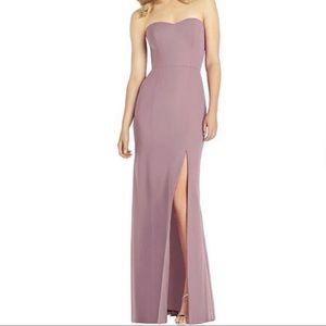 Dessy After Six Gown in Dusty Rose (Style 6803)